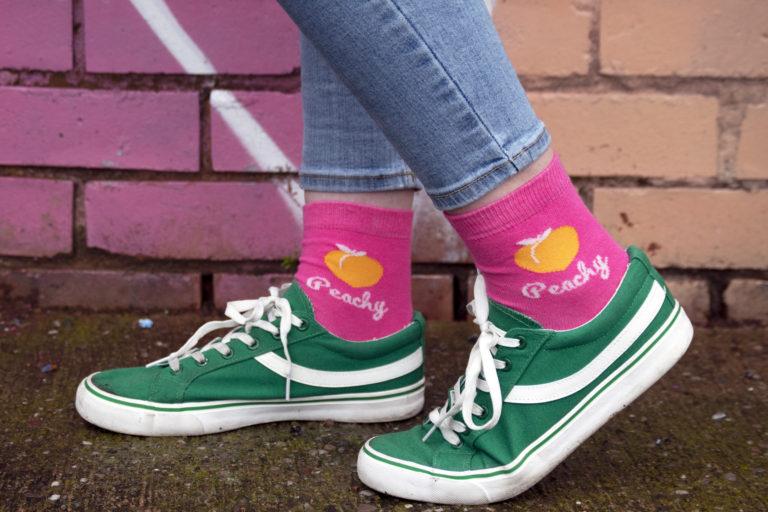 Peachy socks